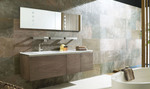 благотриятни шкафове за баня естествен фурнир нестандартни