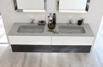 надеждни  шкафове за баня естествен фурнир водоустойчиви