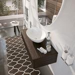 устойчиви  шкафове за баня естествен фурнир водоустойчиви