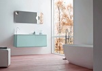 нерушими  шкафове за баня с механизми плавно затваряне водоустойчиви