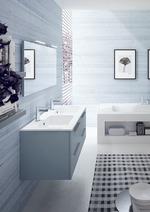 свежи цветни шкафове за баня нестандартни