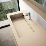 устойчиви  шкафове за баня с плот камък водоустойчиви
