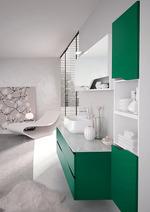 уютни шкафове за баня дизайн