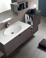 свежи изработка на шкафове за баня нестандартни