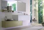 устойчиви  шкафове за баня с механизми плавно затваряне водоустойчиви