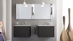 солидни  шкафове за баня с механизми blum влагоустойчиви