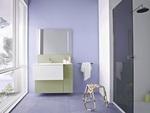висококласни шкафове за баня с плот камък с красив дизайн
