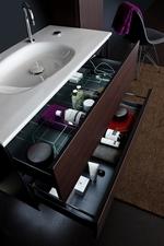 нерушими  шкафове за баня естествен фурнир водоустойчиви