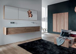свежи шкафове за баня дървесен цвят нестандартни