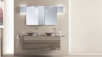 топкачествени шкафове за баня дървесен цвят с красив дизайн