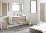забележителни шкафове за баня дървесен цвят нови