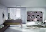 нерушими  шкафове за баня дървесен цвят водоустойчиви
