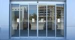 изработка на телескопична стъклена врата