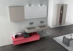 модернистични  нестандартни шкафове за баня