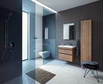 солидни  шкафове за баня за малки бани
