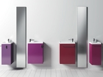 модернистични  шкафове за баня за малки бани