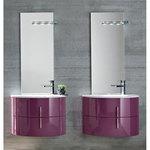 кръгли шкафове за баня модернистични