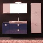поръчкови мебели за баня модернистични