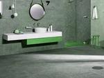 модернистични  шкафове за баня за големи бани