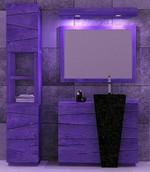 солидни  шкафове за баня за големи бани