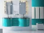 модернистични  шкафове за баня с механизми блум