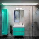 солидни  шкафове за баня с механизми блум