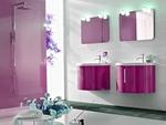 шкафове за баня от естествени материал модернистични