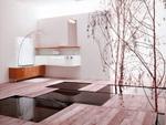 солидни  шкафове за баня от pvc