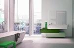 нестандартни решения за шкафове за баня модернистични