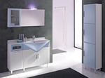 обли шкафове за баня модернистични