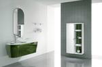 кръгли мебели за баня модернистични