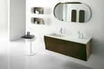 солидни  кръгли мебели за баня