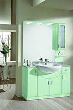скъпи мебели за баня модернистични