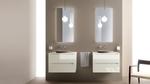 солидни  шкафове за баня с механизми
