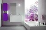модернистични  мебели за баня с чекмеджета
