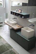 мебели за баня с чекмеджета модернистични
