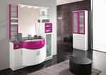 заоблени мебели за баня първокласни