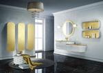 заоблени мебели за баня солидни