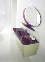 първокласни заоблени мебели за баня