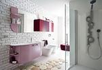 солидни  шкафове за баня с плот изкуствен камък