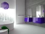 солидни  нестандартни решения за шкафове за баня