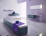 солидни  мебели за баня с чекмеджета