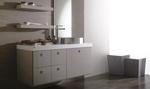 шкафове за баня естествен фурнир солидни