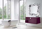 модернистични  проектиране на мебели за баня