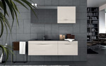 шкафове за баня с топ дизайн модернистични