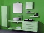 модернистични  шкафове за баня с италиански дизайн