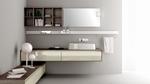 солидни  шкафове за баня с италиански дизайн