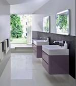 шкафове за баня с италиански дизайн модернистични