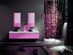 модернистични  мебели за баня с механизми блум