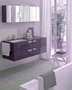 солидни  мебели за баня с механизми блум